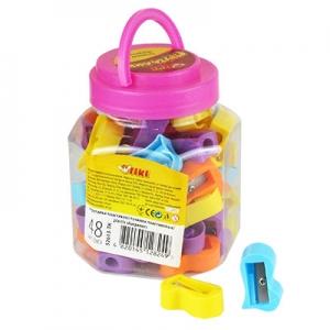 Точилка пластик 48шт в банке 52613-TK