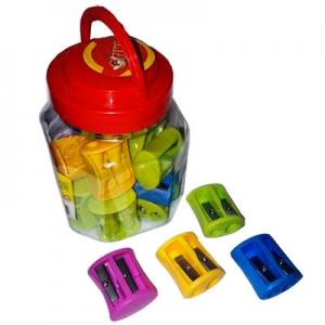 Точилка пластик 20 шт в банке 52612-TK TIKI
