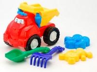 """Машина """"Смайл"""" самосвал №2 +лопатка и грабельки, две большие пас. cp0010502062 Колорпласт"""
