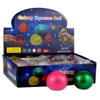 Игрушка резиновая антистресс Galaxy Squeeze Вall  перламутр 5-6 (2615)