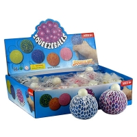 Игрушка резиновая антистресс Squeezebolls Мелкие шарики 5-14 (2615)