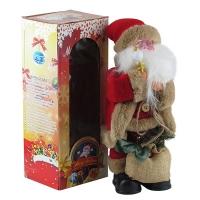 Новогодняя фигура Санта музыка+движение h30см 92236-PN