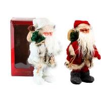 Новогодняя фигура Санта музыка+движение h30см Pioner 92238-PN