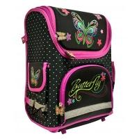 Рюкзак короб-трансформер для девочек бабочка 53075-ТК