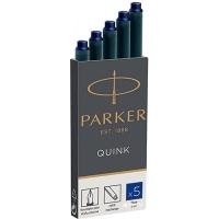 Картридж Паркер Quink синие 11 410BLU цена за уп в уп 5шт
