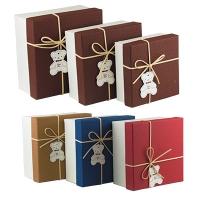 Подорочная коробка Sweet Bear 3 в 1квадратная 12*14*16см  5-153 (10031)