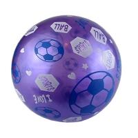 Мяч резиновый с рисунком 8-59 D-1977