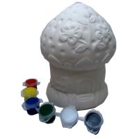 Раскраска копилка керамическая Сказочный домик  8-533 (22087)