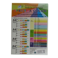 Бумага цветная А4 100л пастель Sinar Spectral 160г/м2  054