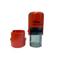 Оснастка автомат для круглой печати d 32мм красная R-532