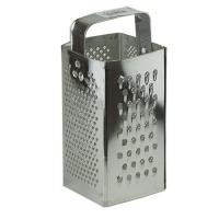 Тёрка для продуктов квадратная 4 рабочие поверхности Master Tool 92-0076