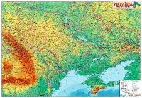 Украина. Административное деление М1:1 250 000 карта настенная 110*77см укр картон