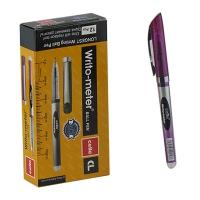 Ручка шариковая фиолетовая 10км Cello Writo-meter  CL-8048  3-540