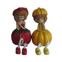 Статуетка Девочка 9622 (комплект 2 шт) цена за комплект 6-77 (7081)