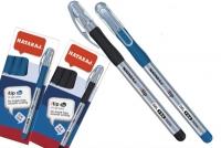 Ручка гелевая черная 0,6мм Nataraj Itip Fine в индивид уп 213552207