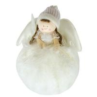 Новогодняя подвеска Ангел 17см 92202-PN