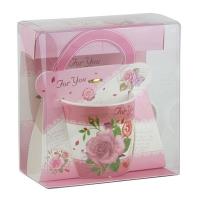 Набор подарочный Чашка роза 92291-PN