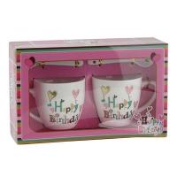 Набор подарочный Чашка+ложка 2шт 92301-PN