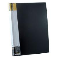 Папка А4 с 30 файлами Format чорная F37603-01