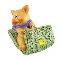Статуетка Свинка с деньгами 2-107