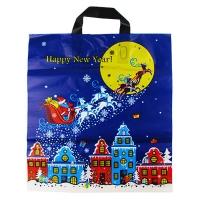 Пакет новогодний Сани 38*43 75мкр 10227