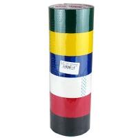 Скотч  цветной 48*50 1-345 ;10-226 (24617) ;3-361(24617)Цена за уп. (в уп.6шт)