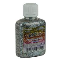 Блестки серебреные голографические 30гр А-944