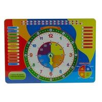 Игрушка развивающая часы 30*21см укр О-00026