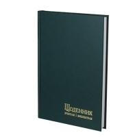 Дневник учителя А5 143*202 112л линия обкл. баладек зеленый 233 0540