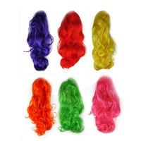 Парик разноцветные локоны 5-144 (6216)
