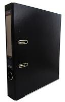 Папка регистратор А4 Economix LUX 50 мм черная собранная Е39722-01