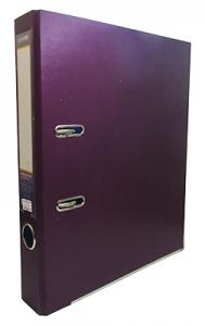 Папка регистратор А4 Economix 50 мм фиолетовая собранная Е39720-12