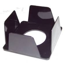 Бокс для бумаги 9*9*4,5 черный