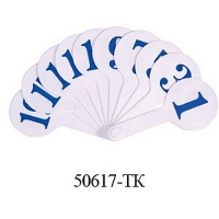 Веер цифры Tiki 50617-TK