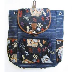 Рюкзак тканевый Совы 8-46