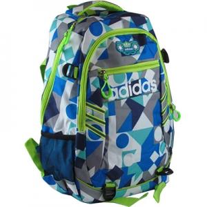 Рюкзак полиестер с мягкой спинкой Adidas пестрый 8-61 №903