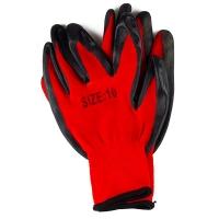 Перчатки супер стрейч (чёрно-красные) LR 5346
