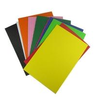 Фоамиран 10 цветных листов гофра EVA материал 20*30см 2мм ТІКІ 50922-ТК