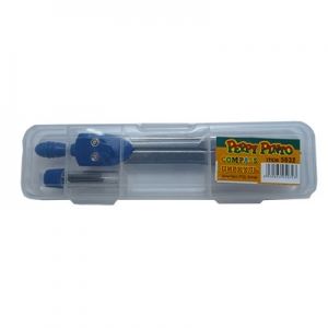 Циркуль цветной в пластиковом пенале Peppy Pinto SO1001LAC-PDQ