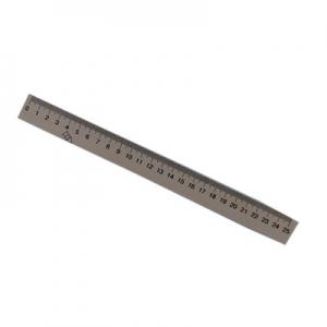Линейка деревянная шелкография 25см Ц351003У