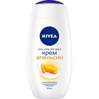 Гель для душа Nivea Bath Апельсин 250мл 81077