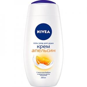 Гель для душа Nivea Bath Апельсин 250мл 2895