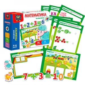 Игра настольная Математика на магнитах укр VT5411-04