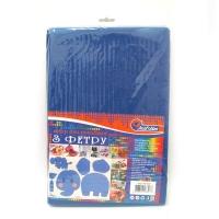 Фетр для творчества синий 1,2мм 170HQ020