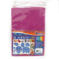 Фетр для творчества темно-розовый 1.2мм Medium плотность 170GSM 170MHQ-002