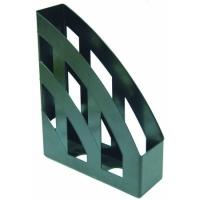 Лоток вертикальный черный пластик ЛВ-01