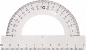 Транспортир металлический 180° Navigator 72006-NV УК