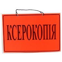 """Табличка """"Ксерокопия"""" А4"""