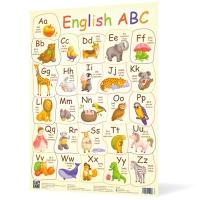 Плакат А2 Английская азбука 120499