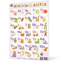 Плакат А2 Украинская азбука NEW 120498